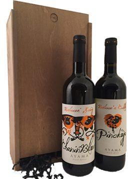Ayama-Baboons-South-Africa-Wijnkooperij geschenk