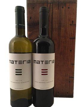 Materia Alentejo Portugal rood en wit geschenk Wijnkooperij