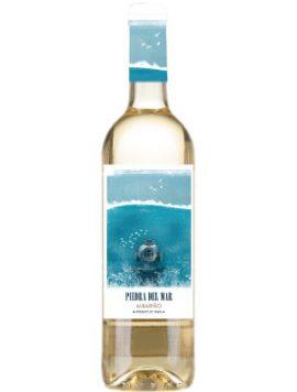 Piedra-del-Mar-Albarino-witte-wijn-Wijnkooperij-Klosters-Terras-Gauda-Galiecie-Rias-Baixas